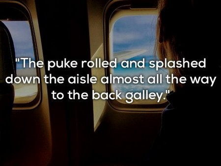 flight attendants reveal their worst experiences 16 photos 1 Flight attendants reveal the craziest things theyve experienced (14 Photos)