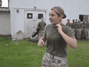 military funny 04 30 18 gifs 32 girl 88a20 GIFs prove Military ain't Brain surgeons: Part 2 (20 GIFs)