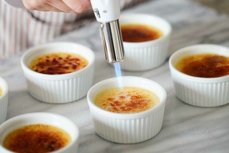 What Does Creme Brulee Mean torch the tops