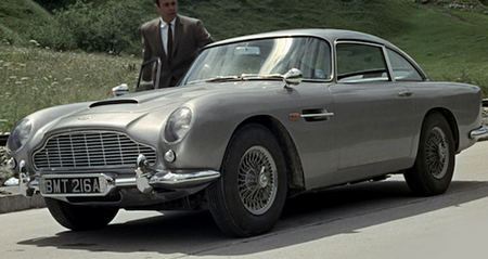 db5 switzerland scene goldfinger Iconic movie props that sold for an insane amount of money (17 Photos)