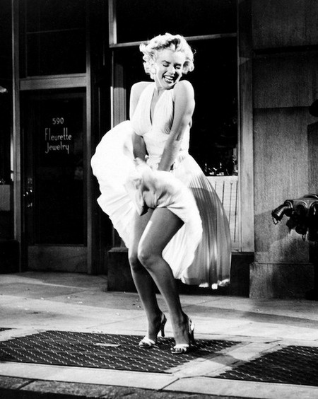 marilyn monroe seven year itch subway grate Iconic movie props that sold for an insane amount of money (17 Photos)