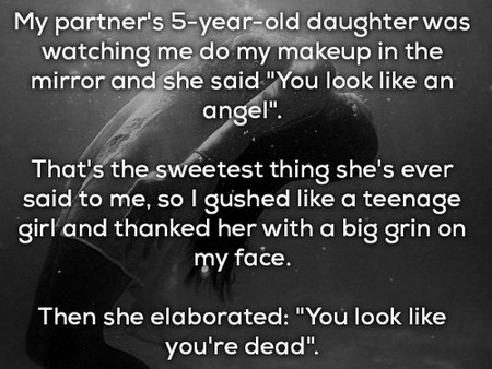 funniest things kids have said 20 photos 3 Kids are like tiny drunk people that have no filter (16 Photos)