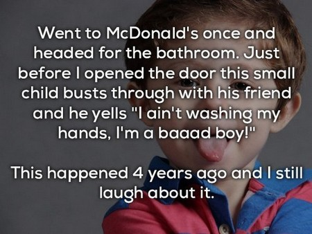 funniest things kids have said 20 photos 13 Kids are like tiny drunk people that have no filter (16 Photos)