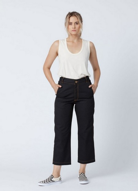 Black Eco Twill Work Pants, $95, available at Backbeat Rags.