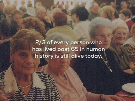 2478515 8 Mind blowing facts about the human lifetime (25 Photos)