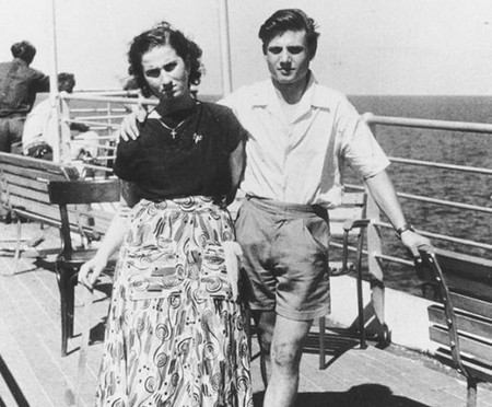 couple on board a passenger ship 1952 8756576916 Old people share with us their biggest regrets in life