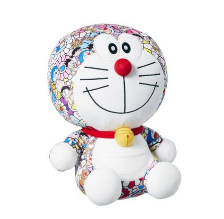 "Uniqlo's ""UT Doraemon"" plush toy in collaboration with Takashi Murakami. Photo: Uniqlo"