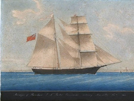 800px mary celeste as amazon in 1861 The creepiest ghost ships to sail the seven seas (13 Photos)