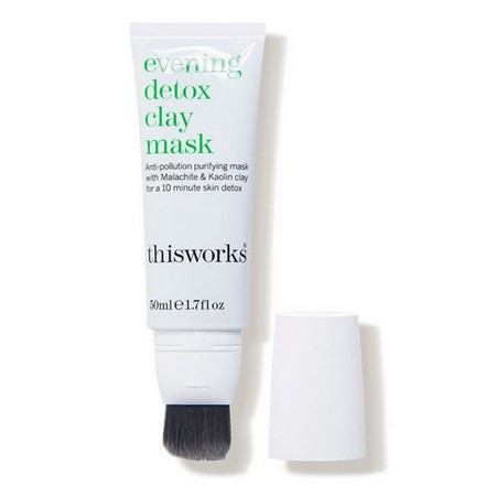 This Works Evening Detox Clay Mask, $59, available here.
