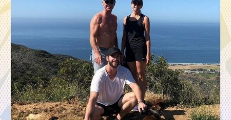 Turns out Liam and Chris Hemsworth's dad is as ripped as his sons and the internet is thirsty