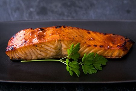 Hoisin Glazed Salmon on Simply Recipes