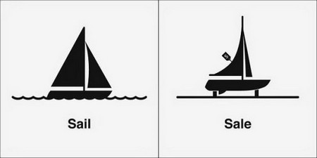 you have to sea these clever illustrations of homonyms 18 You have to sea these clever illustrations of homonyms (30 photos)