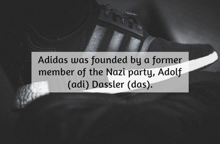fashion sole white nmd shoes black adidas 2587761 An awesome historical fact dump (18 Photos)
