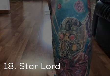 dude sets a guinness record for the most marvel tattoos x photos 21 Dude sets a Guinness Record for the most Marvel tattoos (35 Photos)