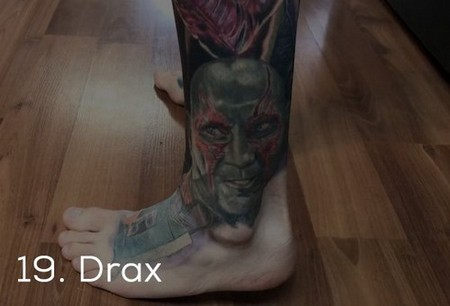 dude sets a guinness record for the most marvel tattoos x photos 22 Dude sets a Guinness Record for the most Marvel tattoos (35 Photos)