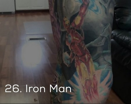 dude sets a guinness record for the most marvel tattoos x photos 254 Dude sets a Guinness Record for the most Marvel tattoos (35 Photos)