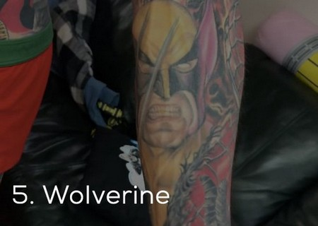 dude sets a guinness record for the most marvel tattoos x photos 8 Dude sets a Guinness Record for the most Marvel tattoos (35 Photos)