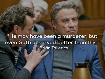 gotti reviews 1 Gotti received a 0% on Rotten Tomatoes and the reviews are brutal (12 Photos)
