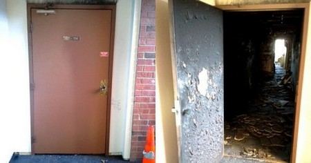 fire door saves apartments before after 6 I never knew about fire doors until these images, and now I think the world should know (11 Photos)
