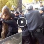 Just when you thought you've seen everything, here's Chewbacca getting arrested (Video)