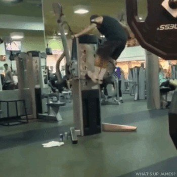its fail day at the gym gifs 32 People who didnt skip Fail Day at the gym (16 GIFs)