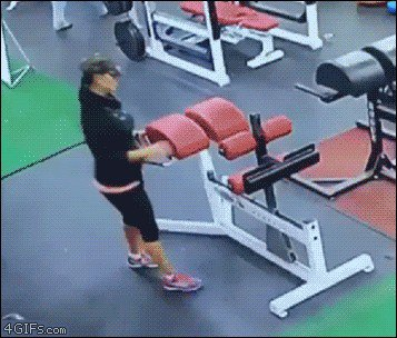 tumblr ow8ijttt4k1ufbwoco1 4002 People who didnt skip Fail Day at the gym (16 GIFs)