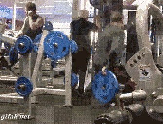 its fail day at the gym gifs 122 People who didnt skip Fail Day at the gym (16 GIFs)