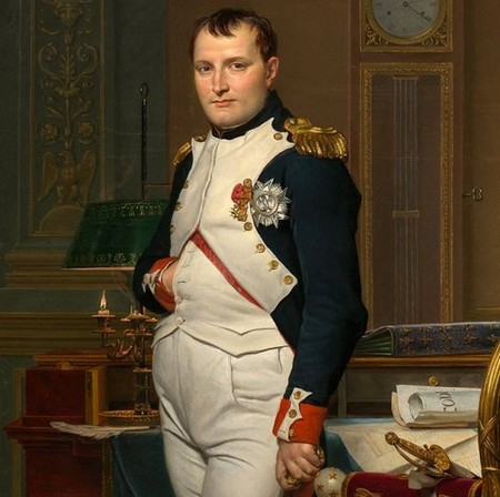 jacques louis david the emperor napoleon in his study at the tuileries google art project Things you might not know about Napoleon Bonaparte (20 Photos)