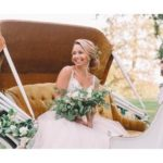 This Bride Looked Like a Disney Princess Pulling Up in a Horse-Drawn Carriage