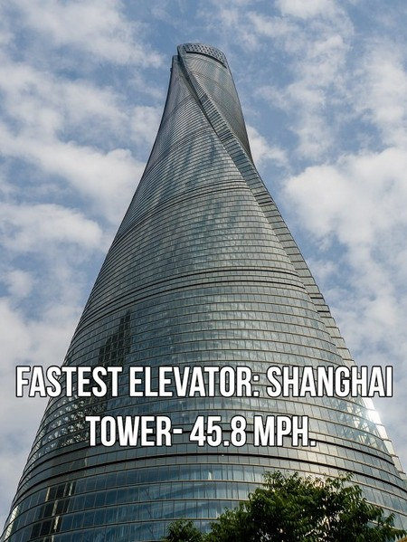 shanghai shanghai tower 5166304 A few of the fastest things on planet Earth (18 Photos)