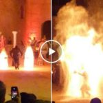It's like Kylo Ren and Darth Maul had a fire obsessed child (Video)