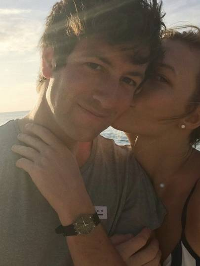 Karlie Kloss just revealed she's engaged with the most romantic photo