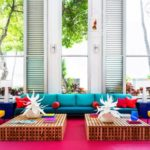 Shoreline Hotel Waikiki: a Lesson in Mixing Bold Colors Without Clashing