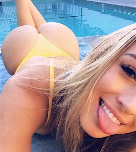 los angeles california jessiesimsofficial los angeles california 147953475584 n The Butt Over Back is making Thursday the best day of the week (48 Photos)