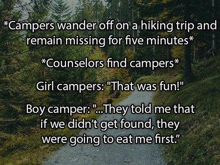 the craziest things people overheard at summer camp 20 photos 8 The craziest things people overheard at summer camp (20 Photos)