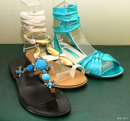 Fashion trends in footwear are distinguished by a variety of colors and soles