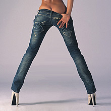 In the new season, in addition to narrow, fashion will include very wide jeans