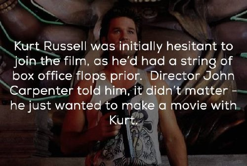 Big Trouble in Little China tidbits to expand your mind (20 Photos)