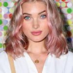 Blonde bombshell Elsa Hosk dyed her hair rose gold and it looks dreamy AF