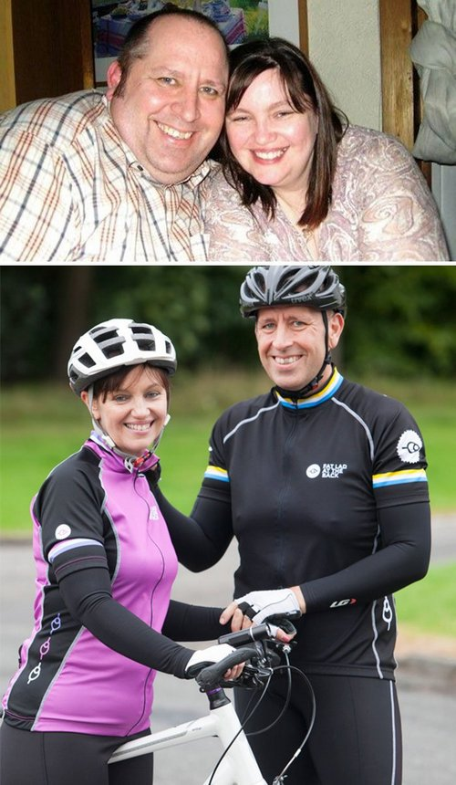 couple weight loss success stories 54 57adb32c80f92 700 Couples losing weight together is twice the inspiration (29 Photos)