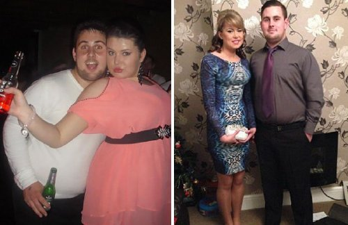couple weight loss success stories 05 57adbf98c4e5a 700 Couples losing weight together is twice the inspiration (29 Photos)