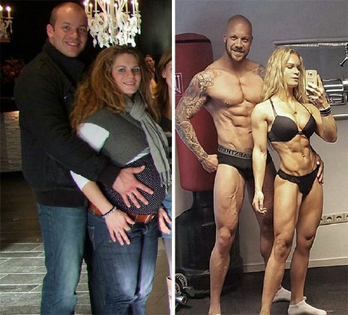couple weight loss success stories 16 57ad9926437b4 700 Couples losing weight together is twice the inspiration (29 Photos)