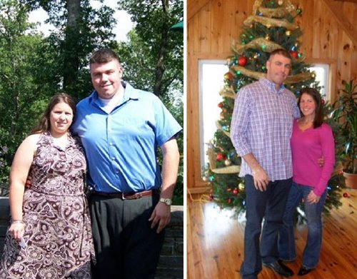 couple weight loss success stories 40 57adc20844bd3 700 Couples losing weight together is twice the inspiration (29 Photos)
