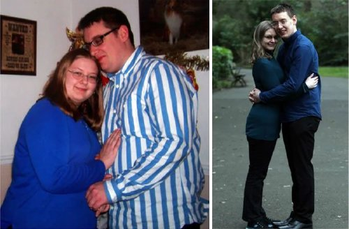 couple weight loss success stories 57 57adba4fbe568 700 Couples losing weight together is twice the inspiration (29 Photos)