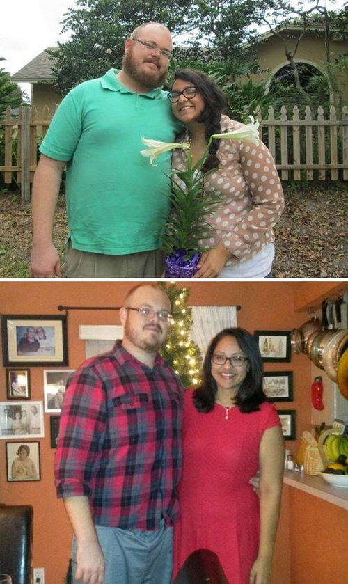 couple weight loss success stories 57ad8f358b2b8 700 Couples losing weight together is twice the inspiration (29 Photos)