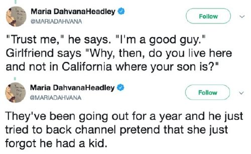 girl finds out her boyfriend has been hiding his 12 year son 5 Douche of a boyfriend failed to inform his S.O. he had a child (18 Photos)