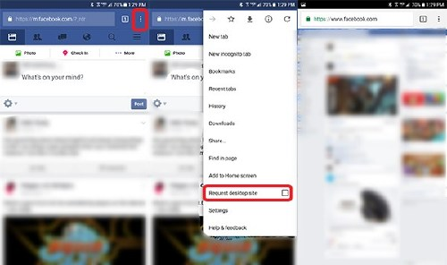 How To Use the Full Facebook Site for Desktop from your
