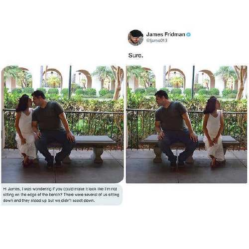 fjamie013 26866873 554441118231681 9126043615456395264 n James Fridman, the unequivocal Photoshop trolling master, is at it again (30 Photos)
