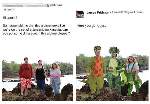 funny photoshop troll photo request james fridman 16 5b6a97a555599 png 880 James Fridman, the unequivocal Photoshop trolling master, is at it again (30 Photos)