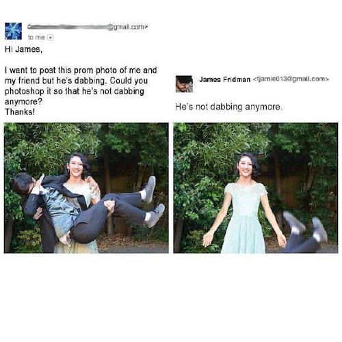 fjamie013 21107842 333327687116703 2449236475280097280 n James Fridman, the unequivocal Photoshop trolling master, is at it again (30 Photos)